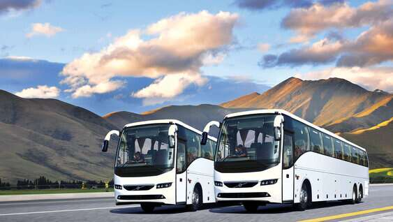 Volvo Buses on Contract
